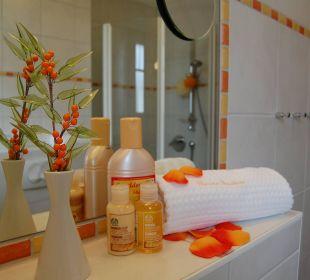 Badezimmer Pension Sanddorn