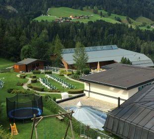 Gartenanlage Alpina Family, Spa & Sporthotel