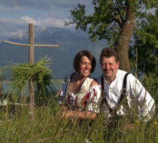 Ihre Gastgeber, Irmgard und Franz Ferienwohnungen Berghof Kinker