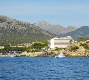 Das Hotel vom Meer aus Universal Hotel Lido Park