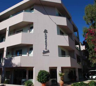 Haupteingang Hotel Corissia Beach