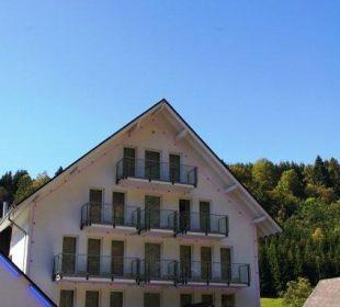 Haupteingang Hotel Haus am Stein