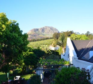 Ausblick vom Balkon der African Suite 4 Heaven Guesthouse