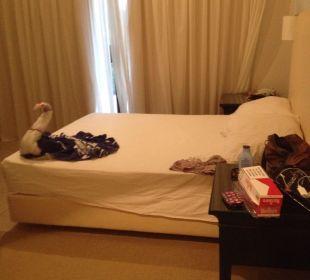Ein Schlafzimmer von 3