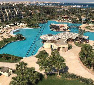 Blick von der Presidential Suite aus Steigenberger Al Dau Beach Hotel
