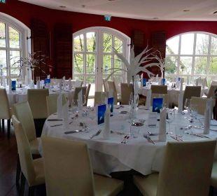Tischanordnung Quellness Golf Resort - Das Ludwig