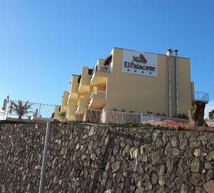 Das Hotel von der Ostseite aus betrachtet Hotel XQ El Palacete