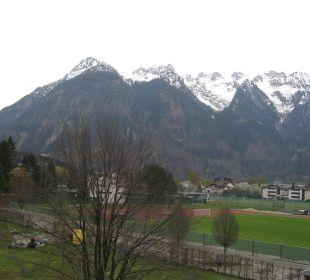 Aussicht vom Zimmerfenster Val Blu Resort Spa & Sports
