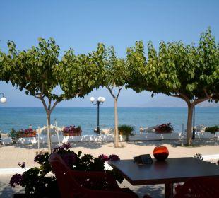Restaurant und Strandaussicht Hotel Corissia Princess