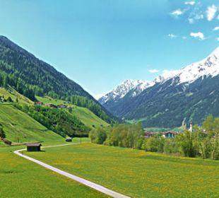 Genießen Sie diesen Ausblick von Ihrem Balkon Pension Ausserwieserhof