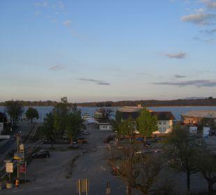 Ausblick am Abend Hotel Neuer am See