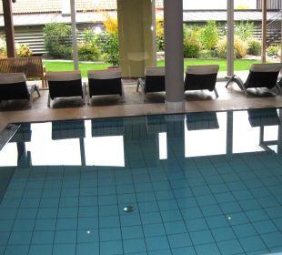 Innenpool Hotel La Maiena Meran Resort