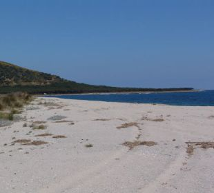 Der Strand an der 344 im August! Sardafit Ferienhaus Budoni