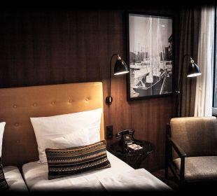 Tolles Zimmer - zur Stadt AMERON Hotel Speicherstadt Hamburg
