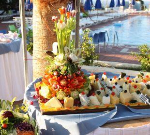 Was man aus Obst und Gemüse gestaltet Hotel Royal Belvedere