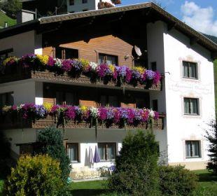 Sommer - Außenansicht Apartment Brandau
