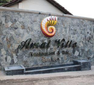 Zugang zum Restorant Amal Villa