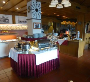 Frühstücksbüffet Hotel Rustika