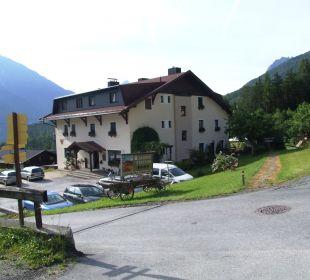 Außenansicht Alpengasthof Köfels