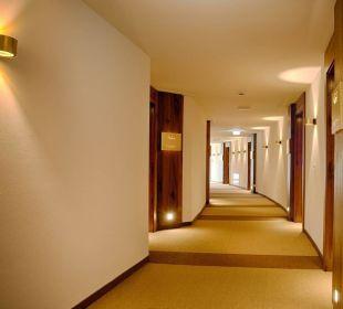 Flure im Rundbau Wellnesshotel Reischlhof