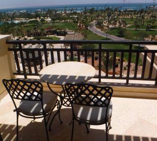 Unser Balkon mit Meerblick