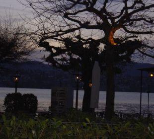 Abendstimmer über der Terrasse Romantik Seehotel Sonne