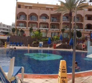 Beheizter Pool mit Rutsche Hotel Mirador Maspalomas Dunas