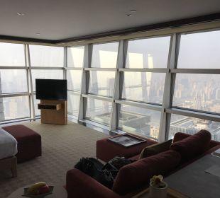 Blick ins Zimmer  Hotel Grand Hyatt Shanghai