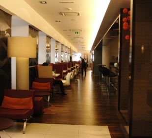 Blick ins Restaurant Hotel Novotel Wien City