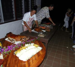 Tonganisches BBQ Sandy Beach Resort Tonga