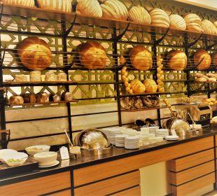 Ausschnitt vom Buffet im Restaurant Anka  Aska Lara Resort & Spa