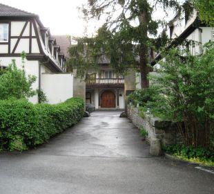 Eingang ins Schloss Hotel Schloss Döttingen