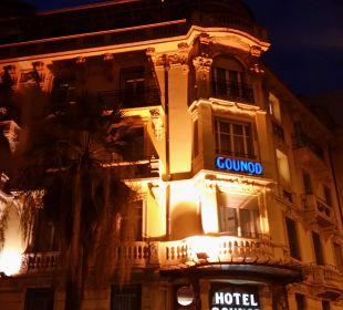 Außenansicht Hotel Gounod Nice