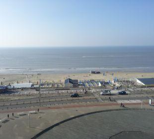 Blick aus dem Fenster Center Parcs Park Zandvoort Strandhotel