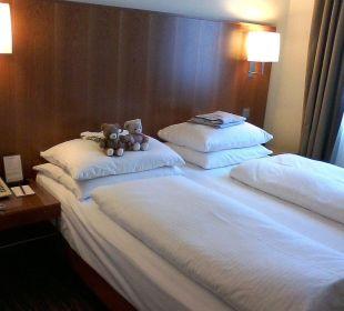 K + K am Harras Suite Schlafraum K+K Hotel am Harras