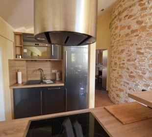 """Küche im Appartement """"Hoher Gröll"""" Apartments Ferienparadies Alpenglühn"""
