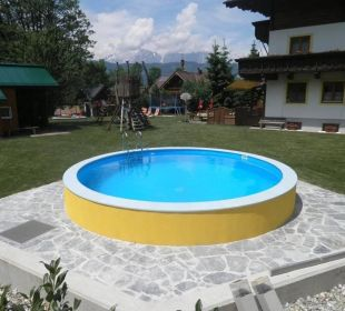 Unser neuer Swimmingpool Pension Ötzmooshof