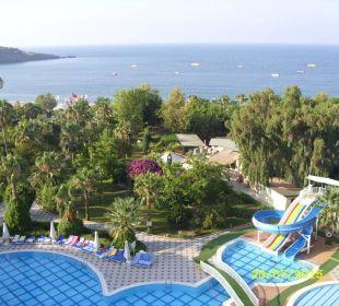 Vom Balkon  Lycus Beach Hotel