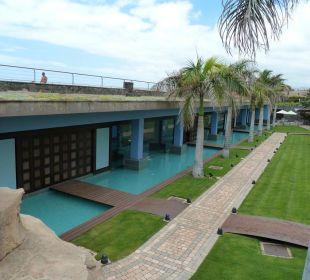 Wellness Bereich Aussenansicht Lopesan Villa del Conde Resort & Spa