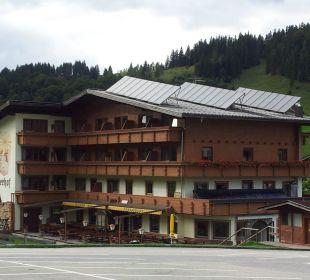 Ansicht Rückseite Hotel Brandauerhof