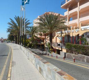 Zejsćie w dół do hotelu Hotel Mirador Maspalomas Dunas
