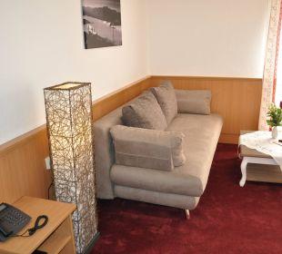 Wohnraum Junior Suite Hotel Garni Malerwinkl