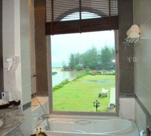 Blick aus dem Badezimmer Khao Lak Riverside Resort & Spa
