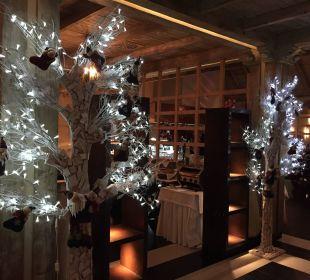 Weihnachtsdeko im Restaurant Lopesan Villa del Conde Resort & Spa