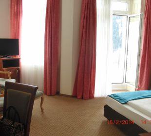 Blick ins Zimmer Hotel Terrace