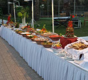 BBQ, Salatbar Hotel King Minos Palace