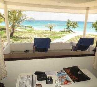 Ausblick aus dem Zimmer Sandy Beach Resort Tonga