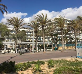 Blick vom Strand Hotel Playa Golf