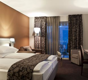 Superior Chic Zimmer mit Balkon und Seeblick Hotel Belvedere Locarno
