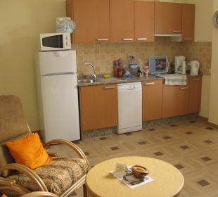 Wohnzimmer - Küchenzeile Apartments Ultra Tres